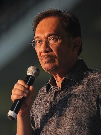 Anwar Ibrahim - Image: Anwar Ibrahim, May 2013