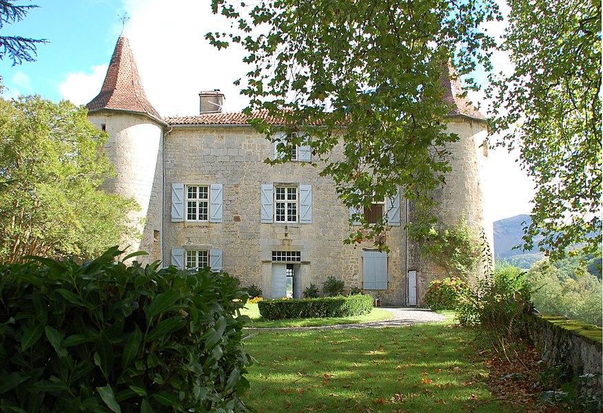 Château Aphaté, face sud.