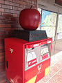 Apple on the mailbox in Hirosaki.jpg