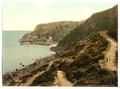 Approach to Babbacombe Beach, Torquay, England-LCCN2002708180.tif