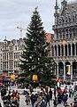 Arbre de noël 2019 sur la Grand-Place (Bruxelles) - 2.jpg