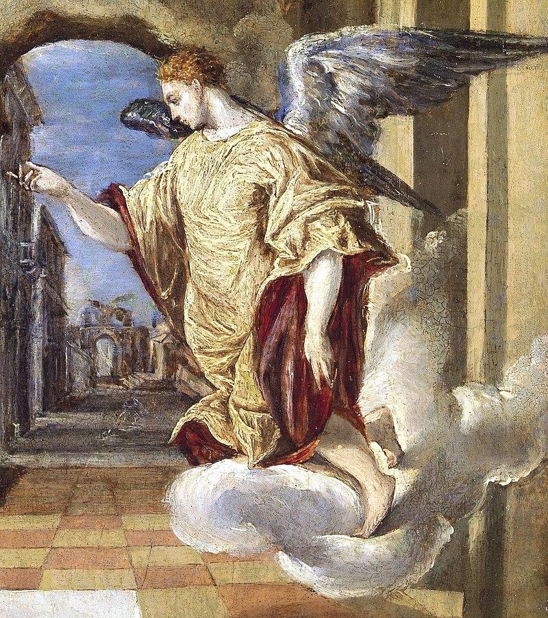 Archangel Gabriel, El Greco (Prado).jpg