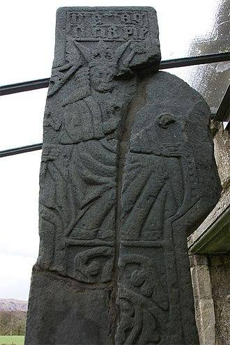 Ardchattan Priory - Image: Ardchattan Priory 20080428 Mac Dougall Cross back