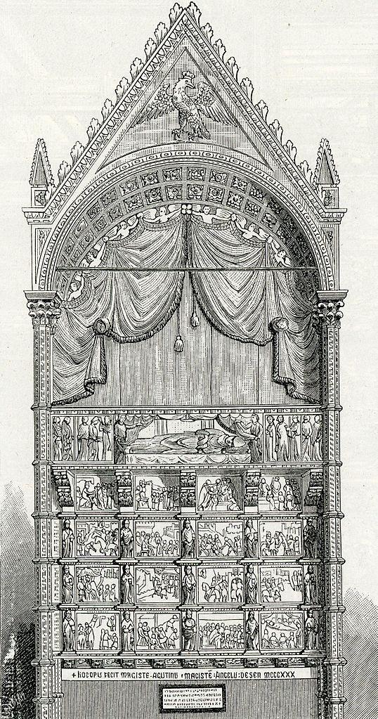 FileArezzo Monumento Sepolcrale Di Guido Tarlati Nella Cattedrale