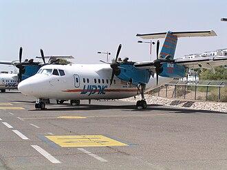 De Havilland Canada - Dash 7 of Arkia Israel Airlines