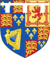 Arms of the Stuart Princes of Wales (1610-1688).svg