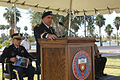 Army Brig. Gen. Orlando Salinas, right, deputy commanding general of U.S. Army South, speaks at the University of Texas, during the Veterans Day ceremony in Brownsville, Texas, Nov. 8, 2012 121108-A-ZZ999-275.jpg