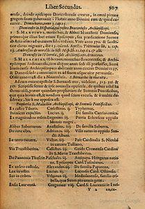 Arnold Wion - Lignum Vitae - 1595 - p307