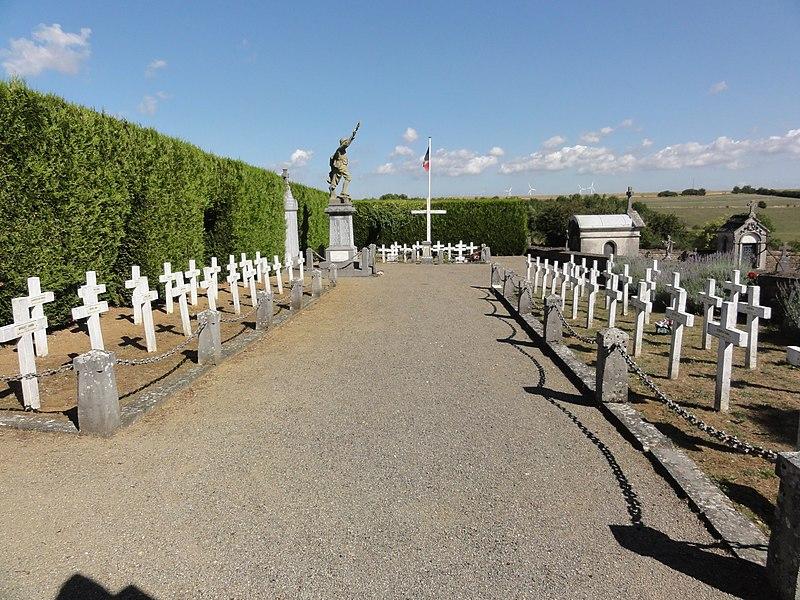 Arrancy-sur-Crusne (Meuse) cimetière militaire