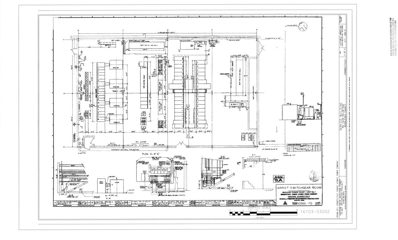 file arrangement  switchgear room