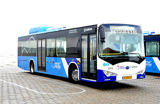 Battery electric bus by BYD in the Netherlands Arriva 3006-III.JPG
