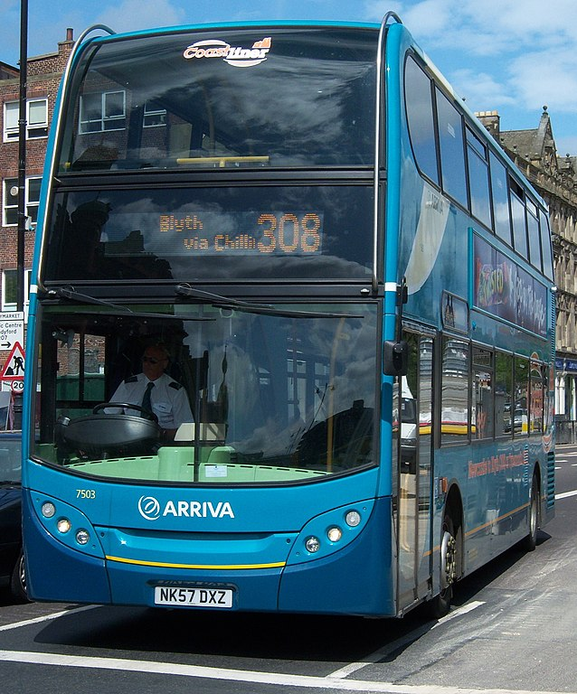 File:Arriva bus 7503 Alexander Dennis Trident 2 Enviro 400 NK57 ...