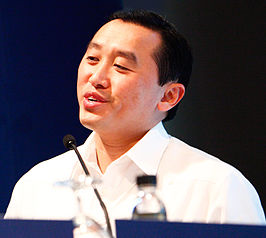 Arthur Yap op het World Economic Forum in 2010