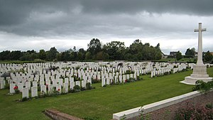 Artillery Wood Commonwealth War Graves Commission Cemetery - Artillery Wood cemetery