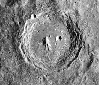 Arzachel (crater) - Image: Arzachel crater 4108 h 1 4108 h 2