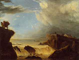 Breach of a Dyke by Storm Surge on March 5 1651