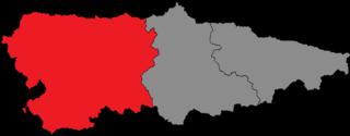 Western District (General Junta of Asturias constituency) General Junta of Asturias constituency