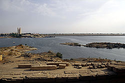 Skyline of Aswan Séng