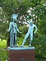 Athena and Marsyas-Botanical Gardends-Copenhagen.jpg