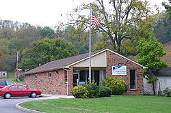 The Post Office in Atkins, Virginia