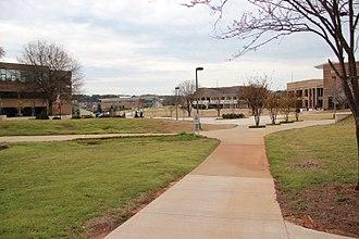 Atlanta Metropolitan State College - The Atlanta Metropolitan State College campus in 2018