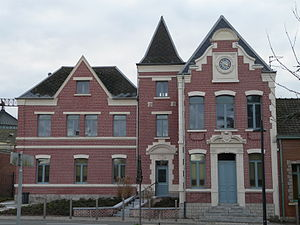 Aubencheul-au-Bac - Image: Aubencheul au Bac mairie