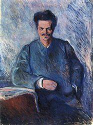 Edvard Munch: August Strindberg