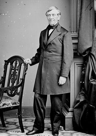 Augustus Bradford - Image: Augustus Williamson Bradford photo portrait standing