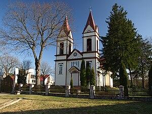Aukštadvaris - Image: Aukstadvaris church
