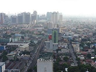 Aurora Boulevard - Cubao and Loyola Heights
