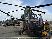 Australian Army Tiger helicopter at the 2007 Australian International Airshow