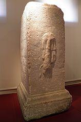 base de statue d'Hercule