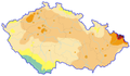 Average concentration of PM10 in Czech Republic 2011.png