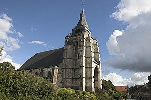 Avesnes-le-Comte - The church of Avesnes-le-Comte