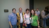 Avner and Darya's wiki Wedding at Wikimania by ovedc 18.jpg