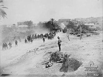 Capture of Jenin - Jenin on 21 September 1918