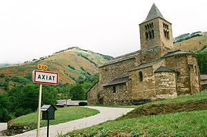 Axiat - The church in Axiat