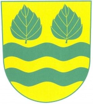 Březí nad Oslavou - Image: Březí nad Oslavou, znak