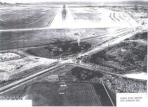 1968 Kadena Air Base B-52 crash - Image: B 52 55 0103 Crash site, Kadena, AFB