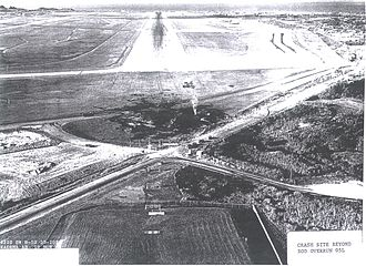 1968 Kadena Air Base B-52 crash - Image: B 52 55 0103 Crash site, Kadena, AFB