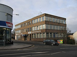 BBC Wiltshire - Radio studios on Victoria Hill, Swindon