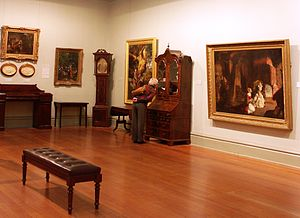 Art Gallery of Ballarat - Gallery interior in 2007
