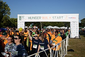 Greater Chicago Food Depository - The Hunger Walk raises money and awareness for those who are struggling to get proper nourishment. The 32nd annual Hunger Walk took place on September 16th, 2017.
