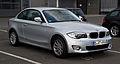 BMW 1er Coupé (E82, Facelift) – Frontansicht, 31. März 2012, Düsseldorf.jpg