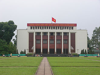 Politics of Vietnam - The National Assembly convened at the Ba Đình Hall until 2007, when the building was demolished