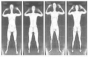 Full body scanner - Image: Backscatter large