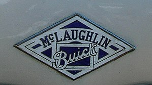 McLaughlin Motor Car Company - Badge in 1924