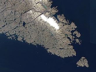 Baffin Island - Southern tip of Baffin Island.
