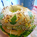 Bagel with lettuce, sprouts and avocado 150130 AW.jpg