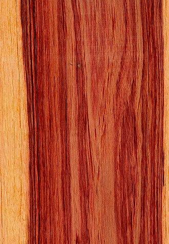Tulipwood - Brazilian tulipwood from Dalbergia decipularis